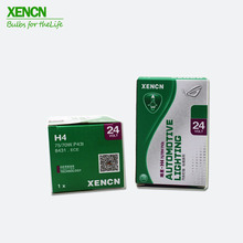 XENCN H4 P43t 24V 75/70 Вт 3200 к прозрачные серии полный дороги Стандартный грузовая фара прозрачная галогеновая лампа авто лампы
