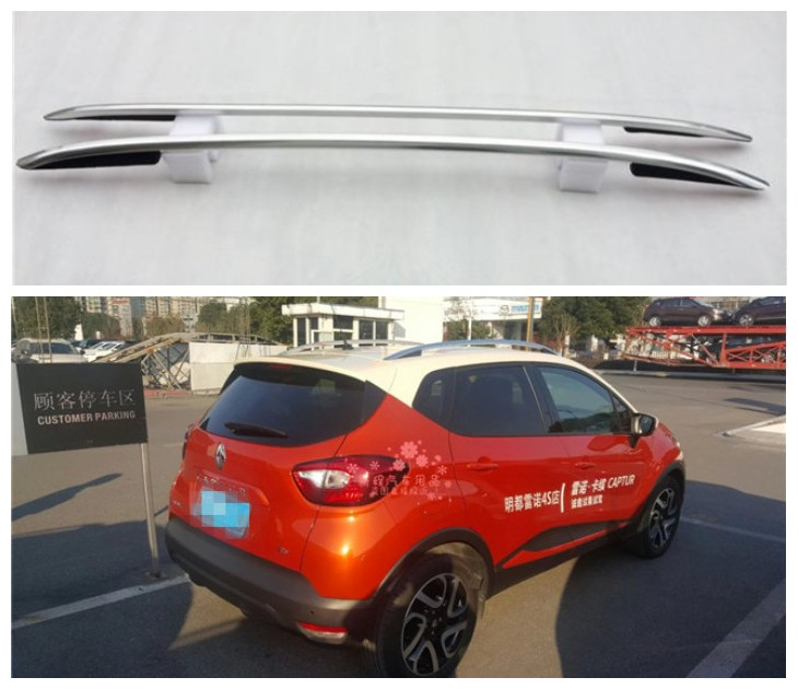 For Renault Captur 2015.2016.2017 Roof Racks Auto Luggage Rack High Quality New Aluminum Paste Installation Car Accessories цена