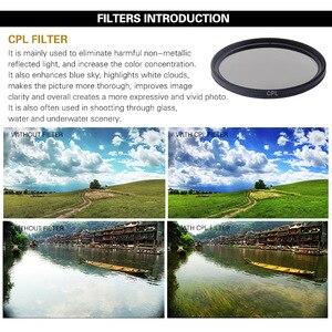 Image 2 - Hero5/6/7 カメラフィルターアルミアダプタ + UV CPL ND 2 4 8 フィルタ + キャップセット移動プロヒーロー 5 6 7 ブラック光学レンズアクセサリー