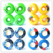 купить New 4pcs SWEET SKTBS Skateboard Wheels Rodas 49mm/50mm/52mm/53mm Skate Board Wheel Parts PU Wheels Rodas De Skate по цене 279.83 рублей