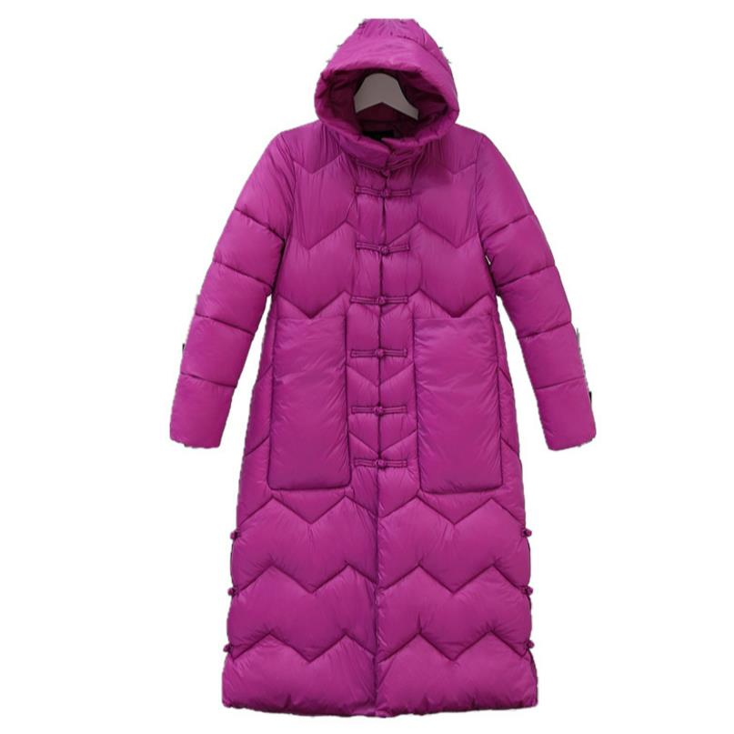 Down Jacket Women Winter Coats Overcoat Padded Long Winter Jackets Female Down Parka