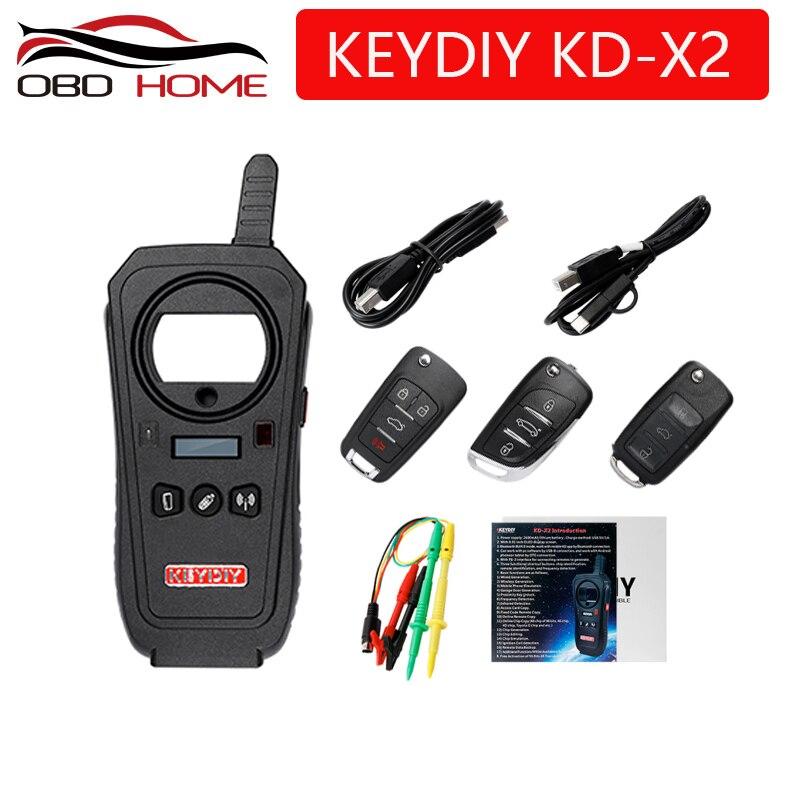 OBD2 key programmer tool KEYDIY KD X2 Car Key Garage Door Remote kd x2 Generater Chip