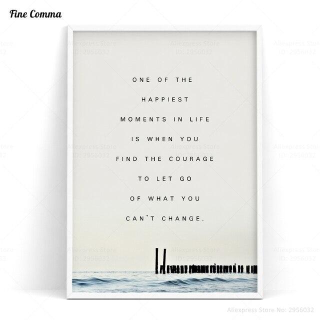posters and prints ocean quotes nordic art poster scandinavian decor