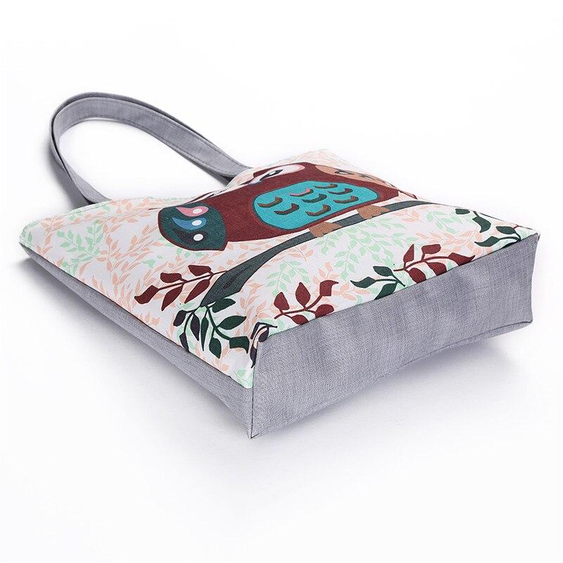 compras Tipo : Female Canvas Handbag