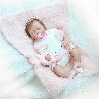Кукла младенец 22 дюймов 55 см силиконовые возрождается Настоящее Реалистичного Куклы BABY ALIVE мягкие Игрушечные лошадки для Обувь для девочек