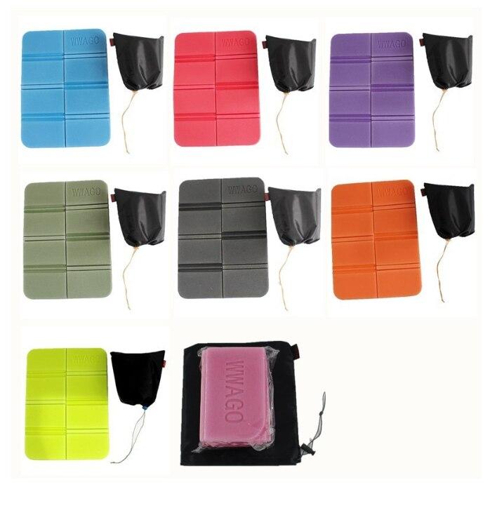 Portable Camping Beach Mats Cushion Folding Foam Folding Size 14*8*6cm Portable Soft Waterproof Picnic Mat Non-toxic