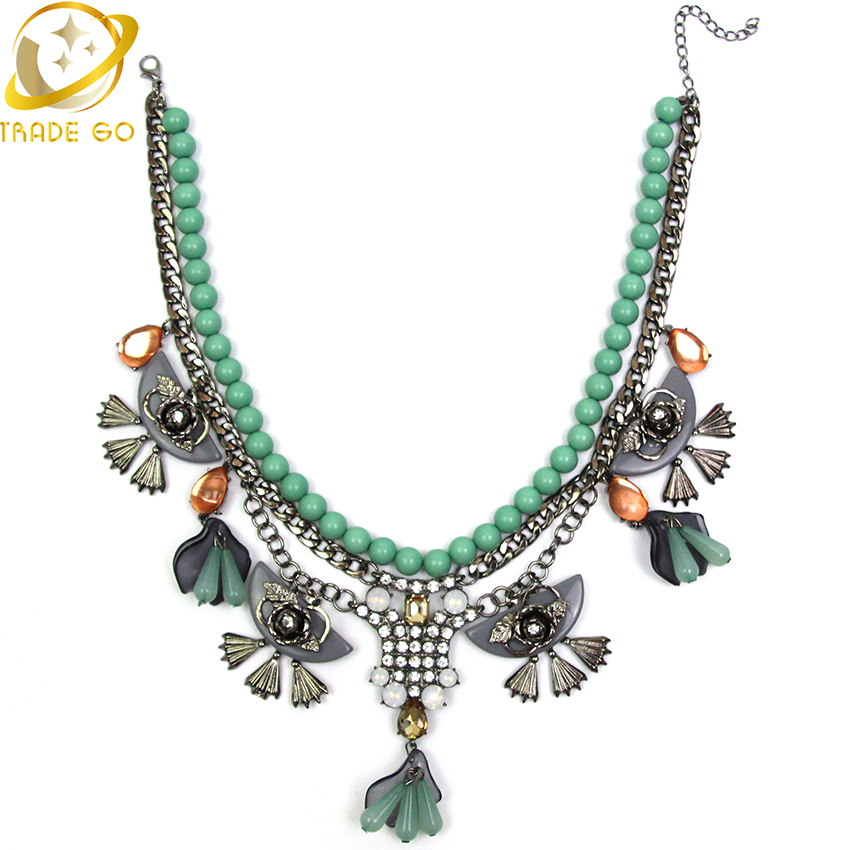 Buy 2015 New Design Women Jewelry Fashion Necklace Unique Ethnic Style