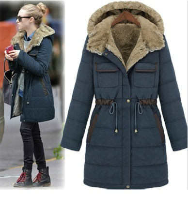2014 New Long Style Thickening 3 Color Waterproof Winter Coat ...