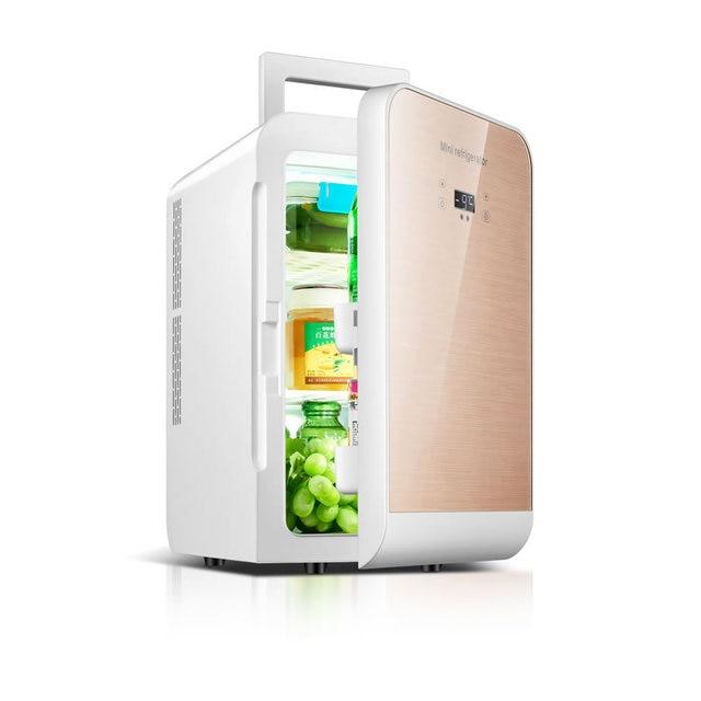 20L Intelligent Control Car Refrigerator Dual Car Student Dual Bedroom Dorm  Cosmetic Refrigerator Refrigerator