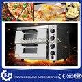 Печь для пиццы  коммерческая печь для пиццы  печь для выпечки  двойная хлебобулочная профессиональная печь  печь для яиц