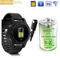 2018 I7 PK LEM7 4G Смарт часы Android 7,0 с сим 2MP Камера gps WI FI MTK6737 1 ГБ 16 ГБ Smartwatch телефон Для мужчин Носимых устройств