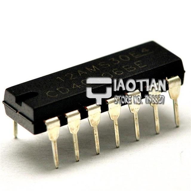 US $3 14 |Free Shipping CD40106 HCF40106 HEF40106 Hex inverting Schmitt  trigger DIP 14 CD Digital IC (20 PCS/Lot)-in Integrated Circuits from