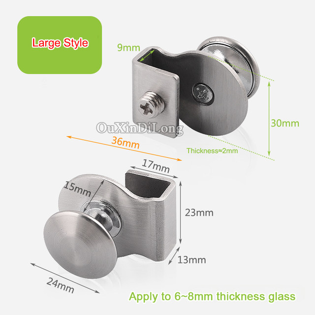 Online Shop Top Designed 10pcs Stainless Steel Glass Cabinet Handle