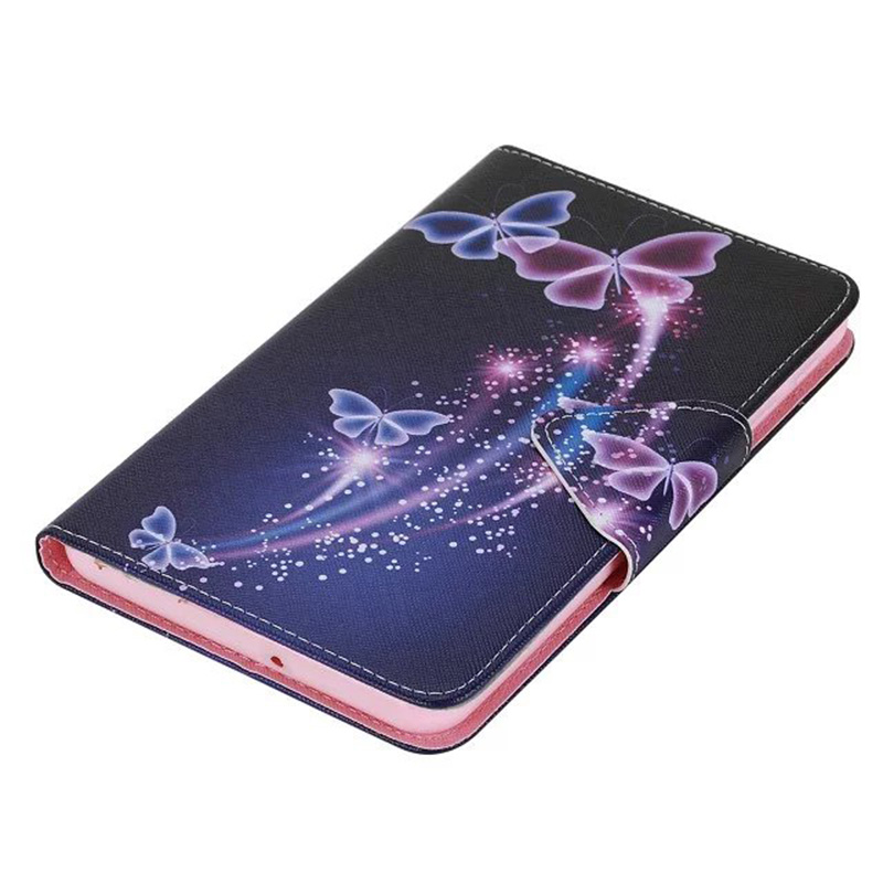 Cat Eye Girl Butterfly Bear Flower Print Pattern PU Leather Case Cover For Samsung Galaxy Tab A 7.0 SM-T280 SM-T285 Tablet women stiletto square heel high heels wedding shoes pointed toe patent leather fashion pumps heels shoes size 33 40 p22810