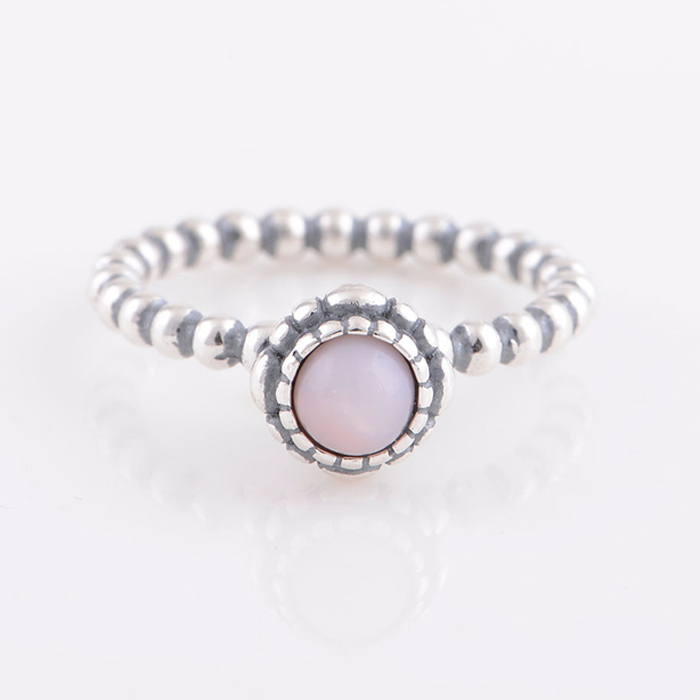 rings birthstone october ring princess pt with tourmaline crown pink gold genuine