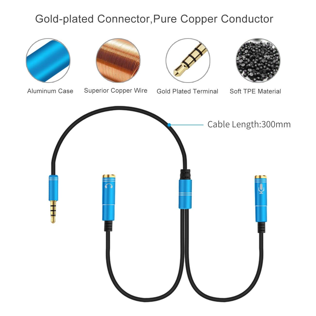 2RCA до 3,5 микрофон Aux кабель для ноутбука наушники 1 Мужской 2 Famle аудио кабель комбинированный удлинитель мобильный аудио адаптер сплиттер