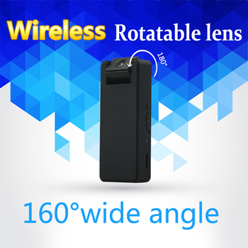Zetta Z16 wireless HD mini camera with wide angle and rotatable lens have motion trigger and voice recording security