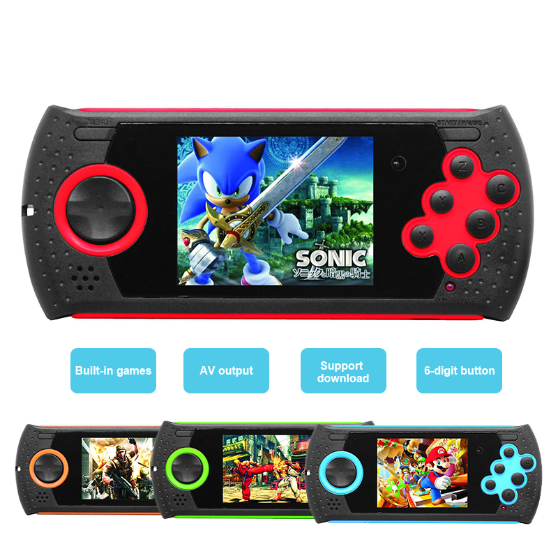 Portable mini Game Consoles 16-Bit video game Built-in 100 in 1 Kids classic Game gamepad Support TV Kids Best Gift image
