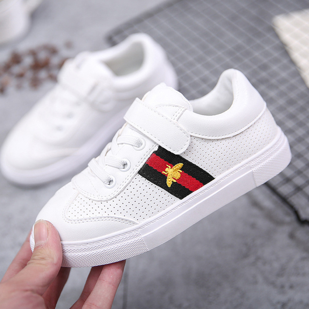 Gucci Casual Flat Sneakers White Shoes Kid Shoe Antislip ...