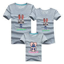 Cartoon Family Tee Shirts 2016 Men Harajuku Anime T-shirt Sport Gym Clothing Tshirt Homme Polera Mother Pink Daughter Outfits Uk