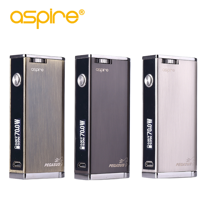 E Cigarette Mod Aspire Pegasus 70W TC Box Mod 0.86 inch Display Vaping Mod Fit RTA RDTA Vape Tank Without 18650 Battery Mod e cigarette mod aspire pegasus 70w tc box mod 0 86 inch display vaping mod fit rta rdta vape tank without 18650 battery mod