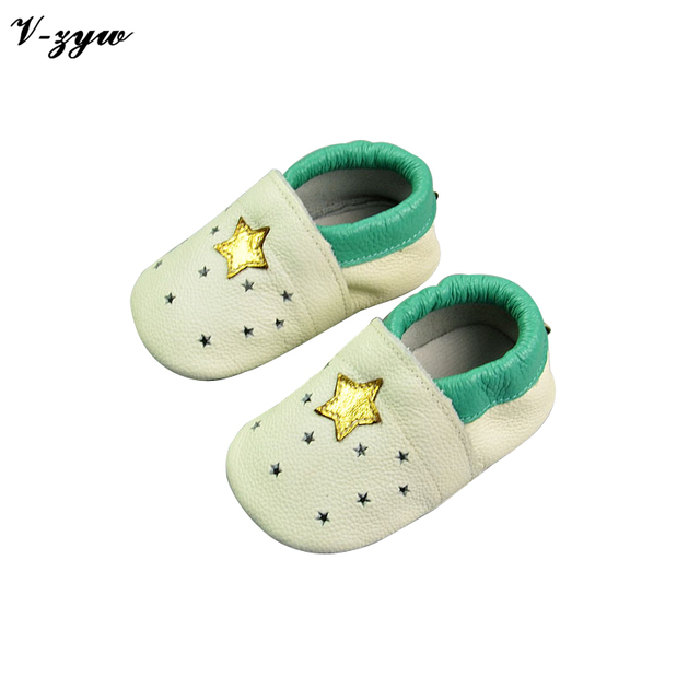 2016 Hot Sell Baby First Walkers Breathable Spring Autumn Shoes Soft Leather Baby Walking Boots Boys Infant Shoes Slippers GZ032