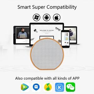 Image 5 - 木材 Altavoz Bluetooth スピーカーポータブルサブウーファーワイヤレスミニ Bluetooth サウンドボックスサポート AUX TF カード Usb iPhone アンドロイド