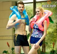 New updated vertical type Inflatable teaching Swimming Ring Swimming training Lifebuoy with Air pump