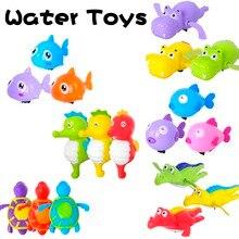 Baby Bath Beach Toys Clockwork Turtle Swiming Pool Kids Infant Reborn Dolls Shower Games Water For Children