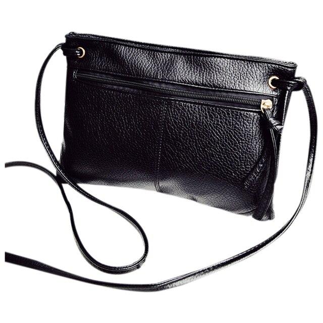 b125174a4ffb Летние женские сумки через плечо модные однотонные Малый falp сумки молния сумка  женская через плечо кожа