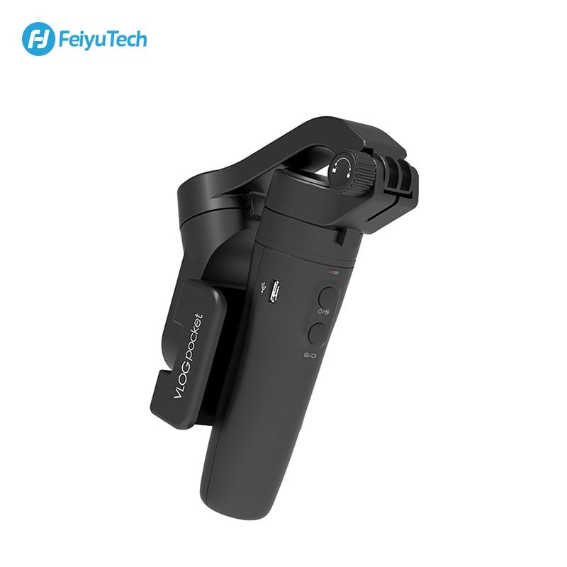 FeiyuTech Vlog Карманный 3 осевой ручной мини телефон Gimbal смартфон стабилизатор для iPhone X 8 7 Plus, HUAWEI P20 MI Samsung Note9 - 5