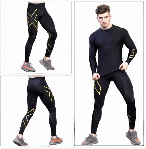 Sizzling 2019 Autumn Lengthy Sleeve+pant Males Swimsuit Compression tights Excessive Elastic Health pants Tops Fast-Drying clothes free transport T-Shirts, Low-cost T-Shirts, Sizzling 2019 Autumn Lengthy Sleeve+pant Males Swimsuit Compression...
