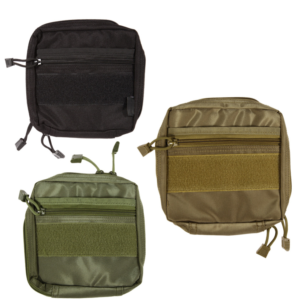 Hiking Camping Bag Waterproof Outdoor Molle System Medical Military Pouch Bag First Aid Nylon Sling Molle Tactical Bags