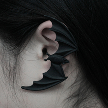 Gothic Punk Bat Earrings Night Club Black Animal Bat Earrings For Wome
