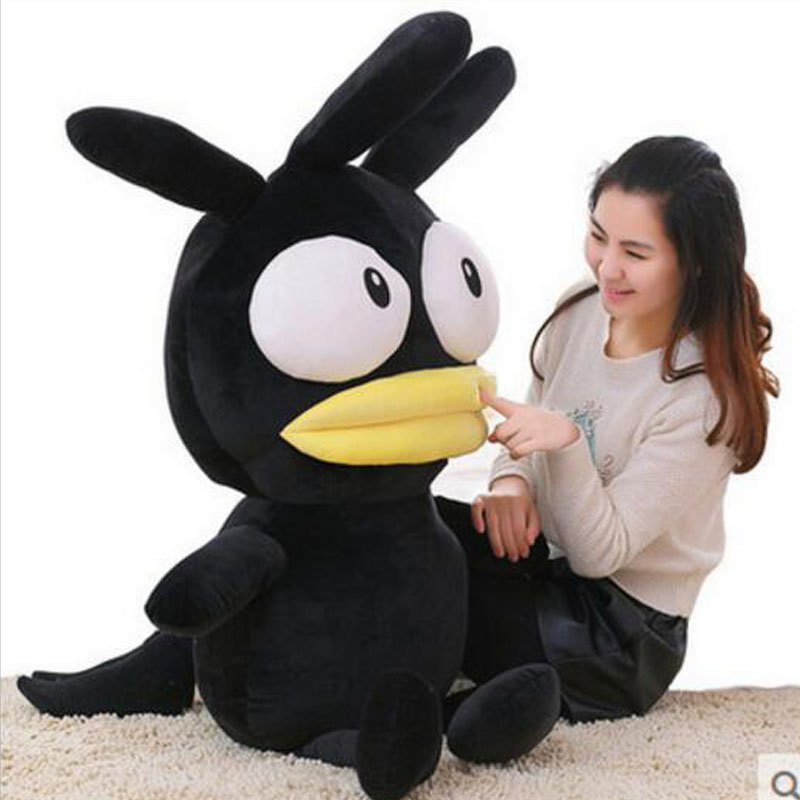 100cm Lovely Dolls Chicken Hug Pillow Doll Stuffed Chicken Plush Doll Toys Cotton Kawai Black Chicken Dolls For Children Gift best price 5pin cable for outdoor printer