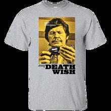 Death Wish, Charles Bronson, Retro, Vigilante, Movie, crime, 1970s, seventies Harajuku Tops Fashion Classic Unique t-Shirt