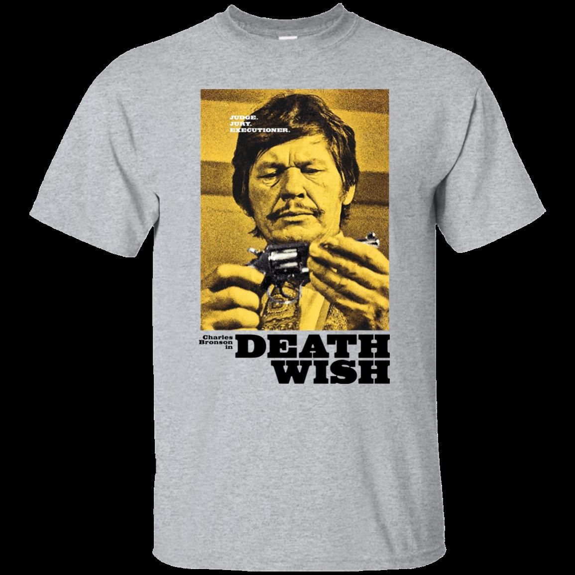 Death Wish, Charles Bronson, Retro, Vigilante, Movie, crime, 1970's, seventies Harajuku Tops Fashion Classic Unique t-Shirt