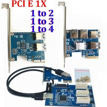 PCI Expansion Card PCI 1 to 4 3 2 Ports USB 3.0 Converter Adatper PCI E Express PCIE 1X slots to 4 Riser Card For Bitcoin Minin(China)