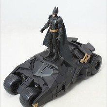 Mattel Dark Knight Justice League Batman Chariot Toy Model +3.75-inch Doll Hand Set PVC Action Model Kid Dolls Toys(China)