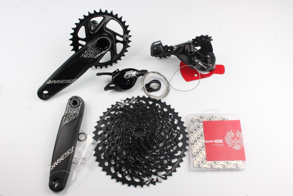 купить GX EAGLE bike bicycle mtb 12 speed groupset with 10-50t 11-50t cassette 126link chain недорого