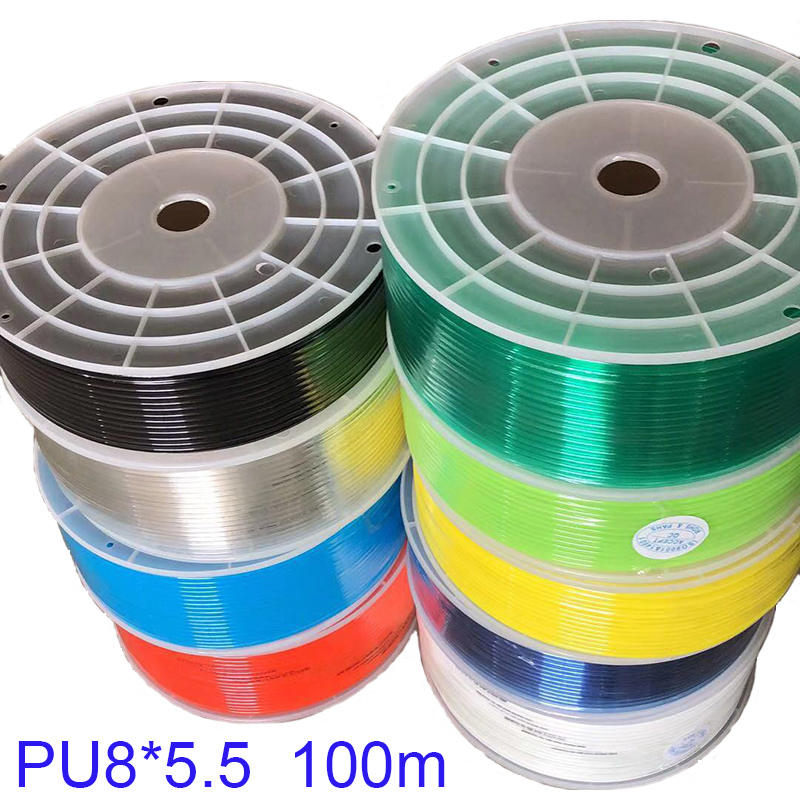 6mm OD X 4mm Inner Dia 7 Meters Long Blue PU Pneumatic Air Tubing Pipe Hose for sale online