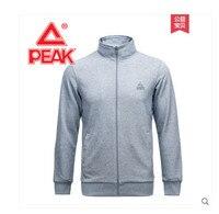 Peak 2018 summer new men's knitted long pants suit sportswear cardigan sweater