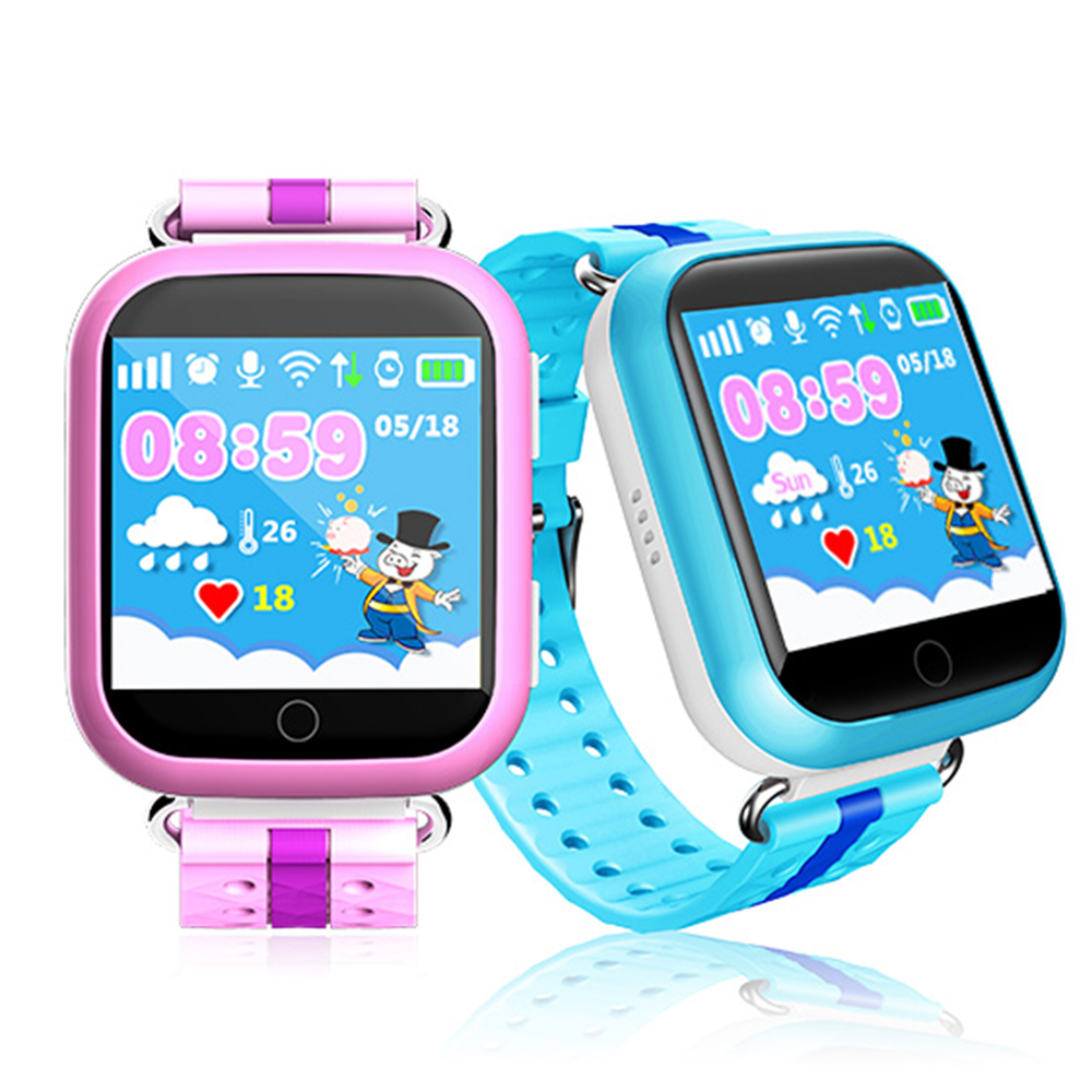 ZUCOOR Baby Smart GPS Watch With Early Learning Touchscreen SOS Call Safe Location Anti-lost Childrens Watches For Kid Girl Son