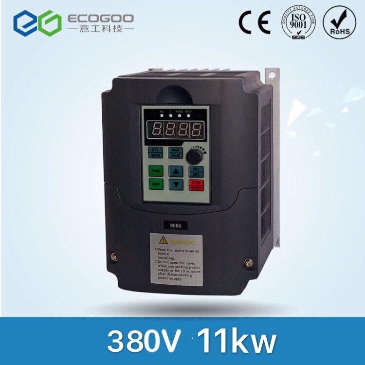 цена на Best ! VFD Inverter Frequency converter 11kw 15HP 3 PHASE 380V 400HZ General vector type