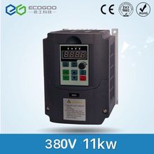 Best ! VFD Inverter Frequency converter 11kw 15HP 3 PHASE 380V 400HZ General vector type vfd inverter fr d720 3 7k fr d700 input 3 ph 220v output 3 ph 200 240v 16 5a 3 7kw 0 2 400hz with keypad new