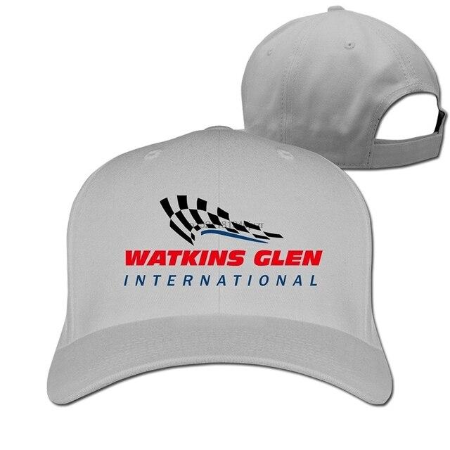 The Glen Watkins Glen International Man Woman Baseball Hats Ash-in ... 72de2c36281