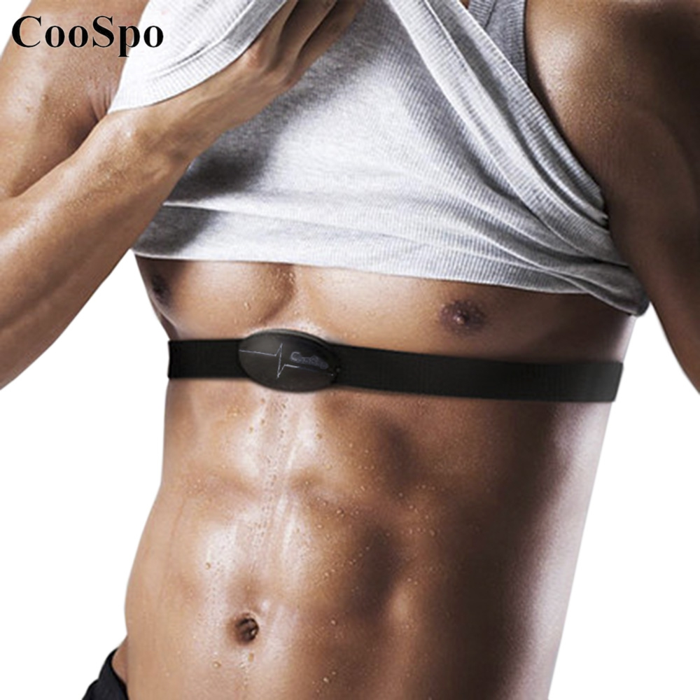 CooSpo H6 ANT Smart Bluetooth V4.0 Wireless Sport Heart Rate Monitor Fitness Sensor Chest Strap for Mobile Cell Phone Outdoor