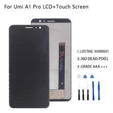 Original For UMI Umidigi A1 Pro LCD Display Touch Screen Digitizer For UMI Umidigi A1 Pro Display Screen Assembly Phone Parts стоимость