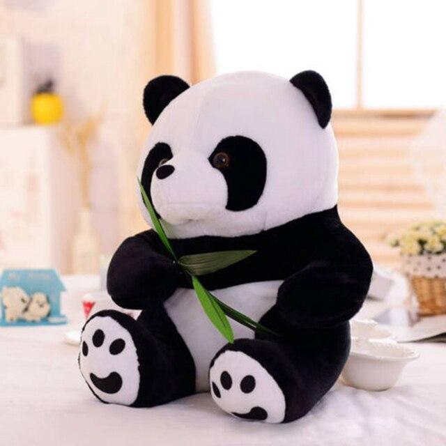 1 pc 9-16 cm Adorável Super Fofo Bicho de pelúcia Panda de Pelúcia Brinquedo Macio Recheado de presente de Natal Presente de Aniversário brinquedos Para as crianças do bebê