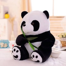 1PC 9-16cm Lovely Cute Super Stuffed Animal Soft Panda Plush Toy Birthday Christmas baby Gifts Present Stuffed Toys For Kids(China)